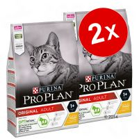 Lot PURINA PRO PLAN 2 x 3 kg pour chat