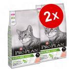 Lot PURINA PRO PLAN 2 x 10 kg pour chat