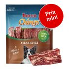Lot Rocco Chings Steak Style pour chien