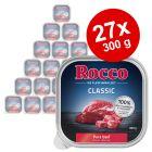 Lot Rocco Classic en barquettes 27 x 300 g pour chien