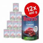 Lot Rocco Classic 12 x 400 g pour chien