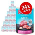 Lot Rocco Junior 24 x 400 g pour chien