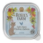 Lot Rosie's Farm Senior 32 x 100 g pour chat