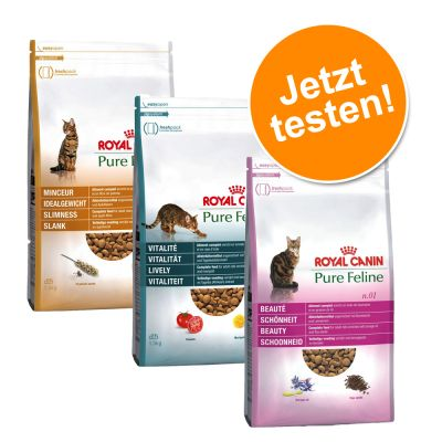Lot Royal Canin Pure Feline 3 x 1,5 kg