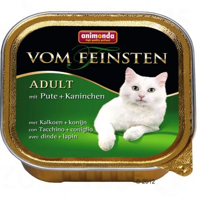 Lot 4 saveurs Animonda vom Feinsten 32 x 100 g