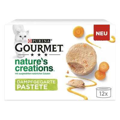 Lot 2 saveurs Gourmet Nature's Creation Mousse