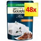 Lot 4 saveurs Gourmet Perle 48 x 85 g