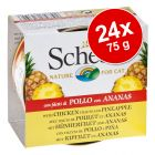 Lot Schesir, fruit 24 x 75 g pour chat