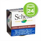 Lot Schesir Natural, riz 24 x 85 g pour chat