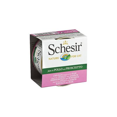 Lot Schesir 24 x 85 g pour chat