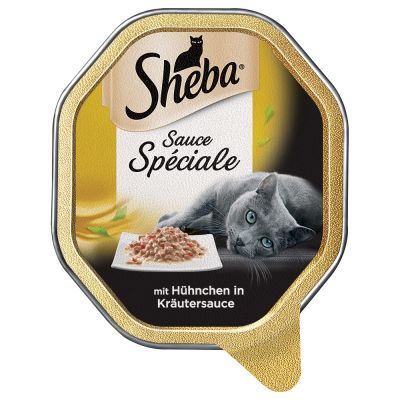 Lot Sheba 22 x 85 g pour chat