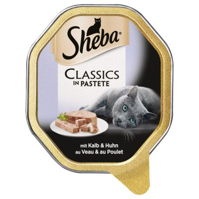 Lot Sheba 44 x 85 g pour chat