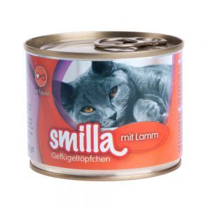 Lot Smilla volaille et poisson 24 x 200g