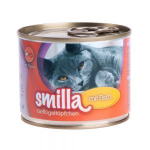 Lot Smilla volaille  24 x 200 g pour chat