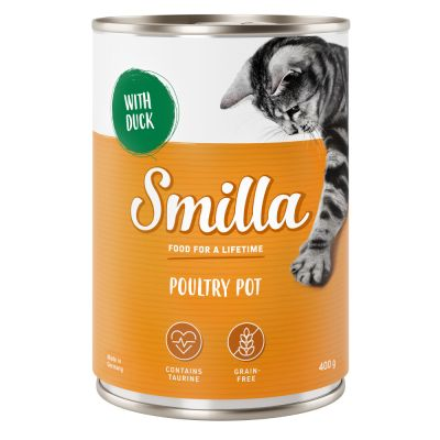 Lot Smilla volaille 12 x 400 g pour chat