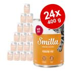 Lot Smilla volaille 24 x 400 g pour chat