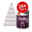 Lot Smilla 24 x 400 g pour chat