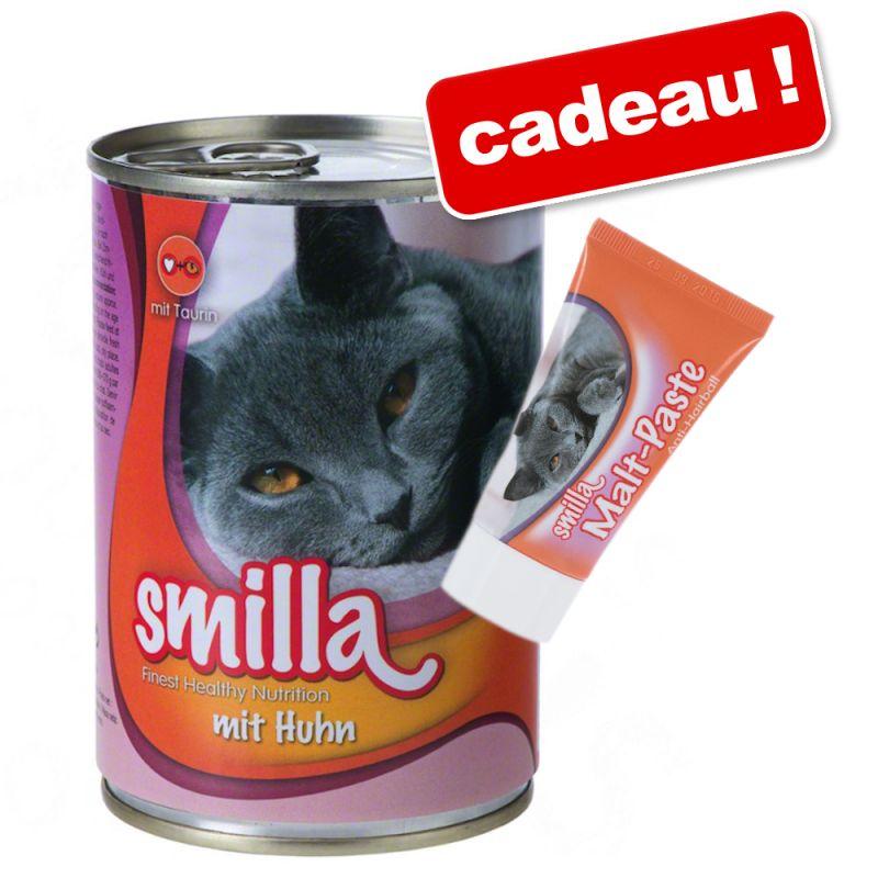 Lot Smilla 40 x 400 g + Pâte au malt Smilla offerte !