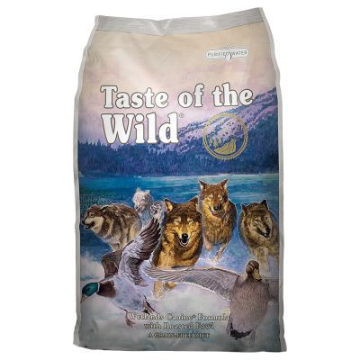Lot Taste of the Wild pour chien