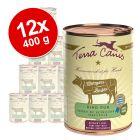 Lot Terra Canis Metzgers Bestes 12 x 400 g pour chien