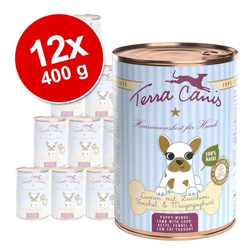 Lot Terra Canis 12 x 400 g pour chiot