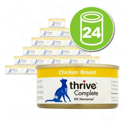 Lot Thrive Complete 24 x 75 g pour chat