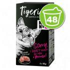 Lot Tigeria 48 x 85 g pour chat