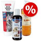 Lot Topsellers spécial peau & pelage pour chien