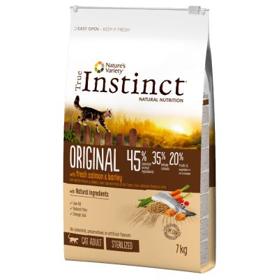 Lot True Instinct 2 x 7 kg pour chat