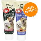 Lot Tubidog : pâté de foie 75 g + pâte de saumon 75 g pour chien