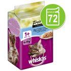 Lot Whiskas Mini Menus 72 x 50 g pour chat