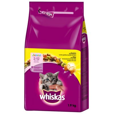 Lot Whiskas 2 x pour chat