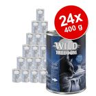 Lot Wild Freedom Adult 24 x 400 g pour chat