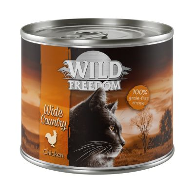 Lot Wild Freedom Adult 12 x 200 g pour chat