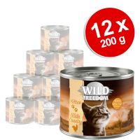 Lot Wild Freedom Kitten 12 x 200 g pour chaton
