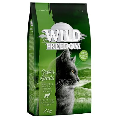 Lot Wild Freedom pour chat 3 x 2 kg