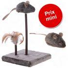 Lot Wild Mouse : souris sonore et plateau de jeu pour chat