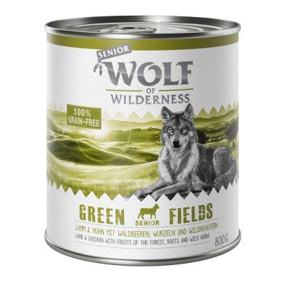 Lot Wolf of Wilderness pour chien 24 x 800 g