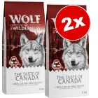 Lot Wolf of Wilderness The Taste Of 2 x 12 kg pour chien