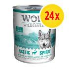 Lot Wolf of Wilderness 24 x 400 g