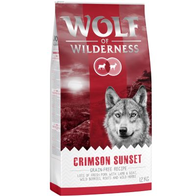 Lot Wolf of Wilderness 2 x 12 kg pour chien