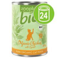 Lot zooplus Bio 24 x 400 g