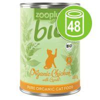 Lot zooplus Bio 48 x 400 g