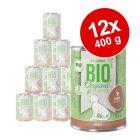 Lot zooplus Bio 12 x 400 g
