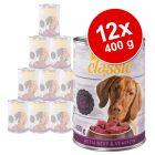Lot zooplus Classic 12 x 400 g pour chien