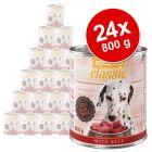 Lot  zooplus Classic 24 x 800 g pour chien