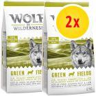Lots économiques Wolf of Wilderness 2 x 12 kg