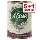Lukullus A Casa comida húmida 6 x 400 g em promoção: 5 + 1 grátis!