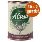 Lukullus A Casa 12 x 400 g comida húmeda en oferta: 10 + 2 ¡gratis!