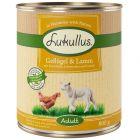 Lukullus Adult sem cereais - aves e cordeiro